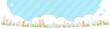 Townscape back image illustration_skyline wide - 179740288