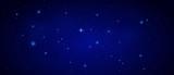 Nachthimmel mit Sternen - Banner