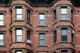 Old red brick house in Brooklyn - 179762607