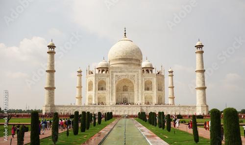 Staande foto India Taj Mahal