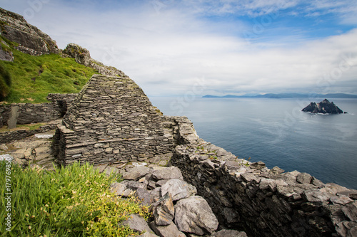 Star wars film location on skellig michael