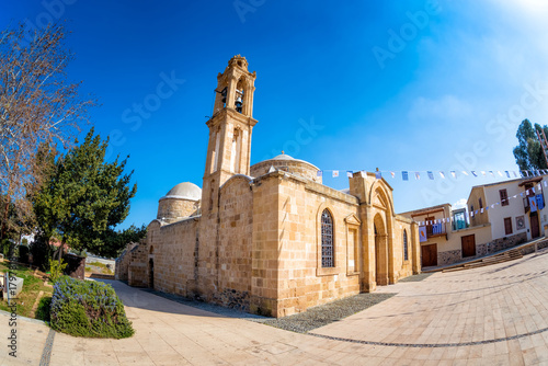 Foto op Plexiglas Cyprus Apostles Varnavas Church. Peristerona village, Cyprus