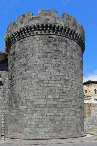 Foto op Aluminium Napels Porta Capuana Tower Naples