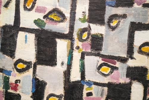 Fotobehang Graffiti pattern / texture