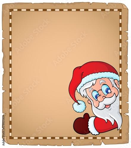 Papiers peints Enfants Lurking Santa Claus topic parchment 1