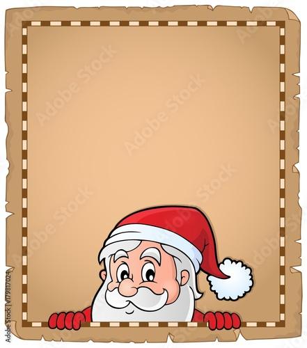 Papiers peints Enfants Lurking Santa Claus topic parchment 2