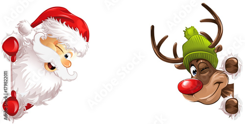 Weihnachtsmann Rudolph