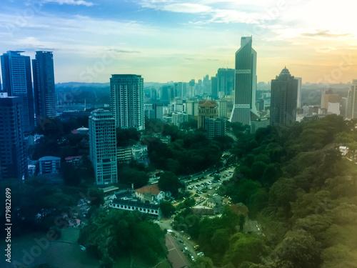Fotobehang Kuala Lumpur Sunrise Malaysia