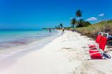 Landscape view of Bahia Honda State Park ocean beach, Florida, USA.