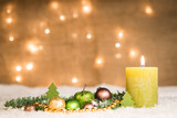 adventsgesteck - erster advent - 179835480