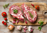Raw pork steaks - 179846006