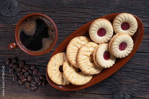 Poster Cookies and coffee