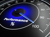 Performance speedometer - 179849016