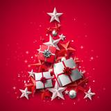 Luxury Christmas greeting card - 179850095