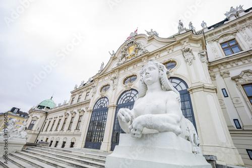 Foto op Plexiglas Wenen austria, vienna, belvedere palace