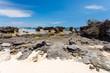 rocky beach in Antsiranana, Diego Suarez, Madagascar