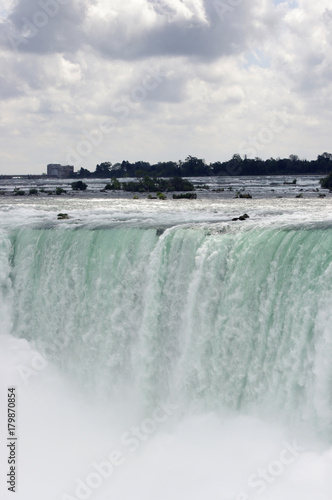 Fotobehang Canada Dreamy Close up of Niagara Falls