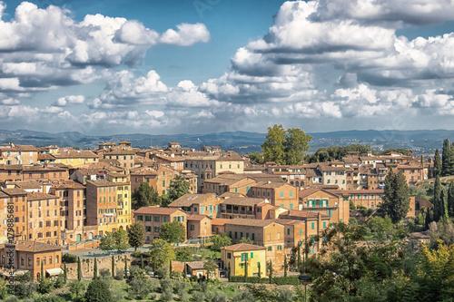 Deurstickers Toscane Siena - Toskana - Italien