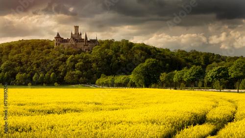 Fotobehang Meloen Schloss Marienburg