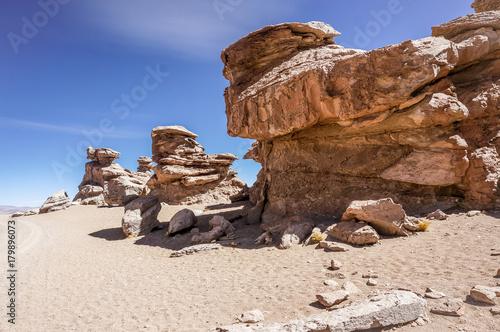Fotobehang Diepbruine Salt Flats, Bolivia