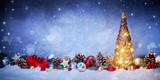 Weihnachten Hintergrund - 179900496
