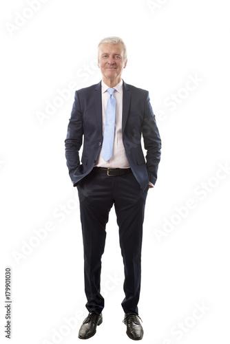 Sticker Senior businessman portrait