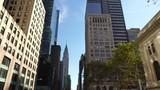 street of skyscraper buildings in  New York City Manhattan - 179905837