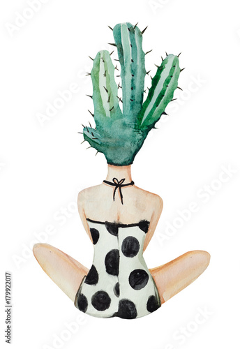 Cactus woman - 179922017