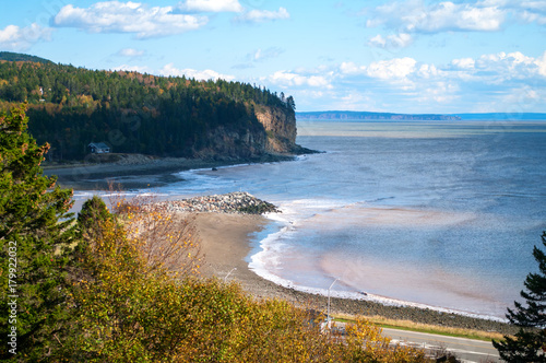 Fotobehang Canada Chignecto Bay at Alma New Brunswick