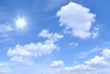 さわやかな青空 輝く太陽  - 179932458