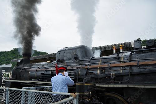 Papiers peints Voies ferrées 日本の蒸気機関車