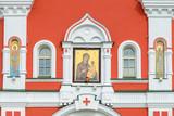 Valday Iversky Svyatoozersky Virgin Monastery. The gate icon of the Theotokos - 179950464