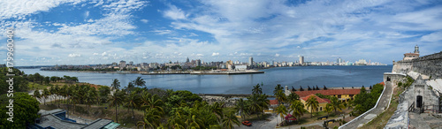 Poster Havana Panorama de l'Avana