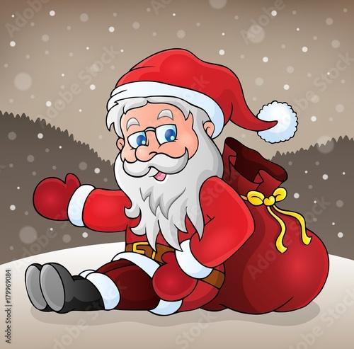 Aluminium Voor kinderen Santa Claus subject image 1