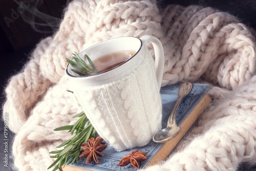 herbal tea with rosemary - 179969230