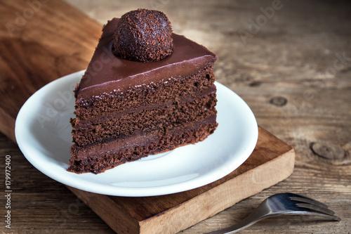 Poster Chocolate cake