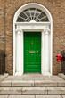 Porte verte géorgienne à Dublin - 179976490