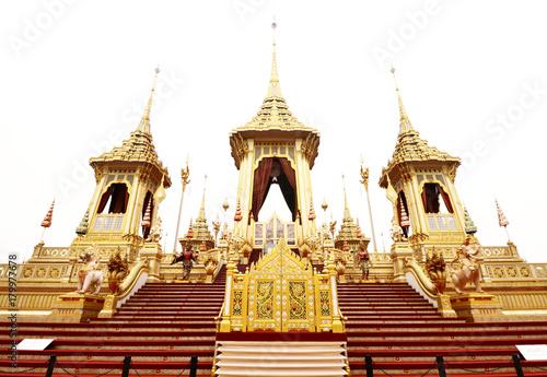 Foto op Plexiglas Bangkok The Royal Crematorium for HM King Bhumibol Adulyade