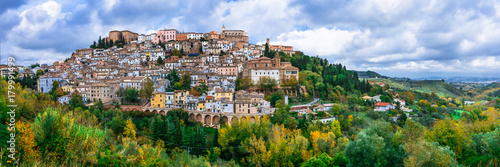 Most beautiful traditional villages (borgo) of Italy - Loreto Aprutino in Abruzzo
