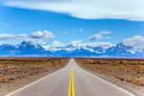 Wspaniała góra Fitz Roy w Patagonia
