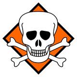 Symbole toxique tête de mort pictogramme - 179993084
