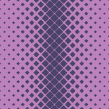 Geometric halftone rounded square pattern background - vector design from diagonal squares
