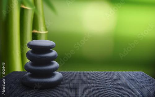 Fotobehang Zen Stone of balance