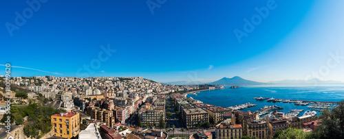 Foto op Canvas Napels Panoramica Napoli
