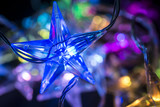 christmas background - christmas decoration - stars shining - 180023694
