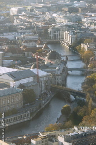 Fotobehang Donkergrijs Berlin
