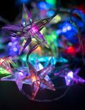 christmas background - christmas decoration - stars shining - 180024423