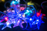 christmas background - christmas decoration - stars shining - 180024882