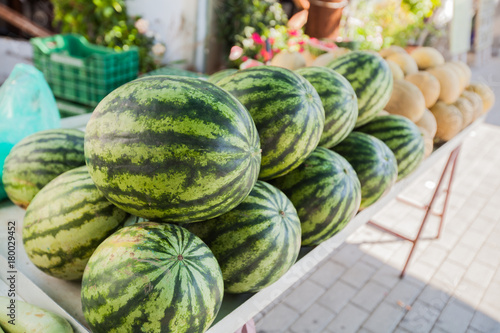 Poster Sweet fruit watermelon
