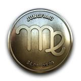 Sternzeichen Jungfrau Emblem - 180031803